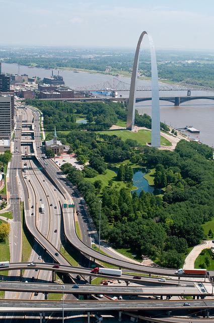 "MoDOT Calls I-70 to Boulevard Plan ""Not Feasible"" Because CityArchRiver2015 Says So"