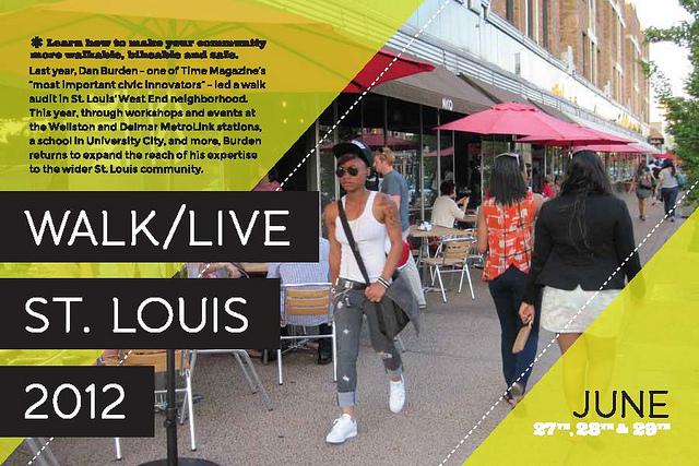 Walk/Live St. Louis 2012 Starts Today
