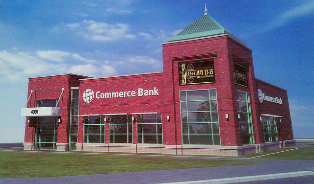 Commerce Bank to Sell 4.5 acres in The Grove, Demolish and Replace Existing Branch