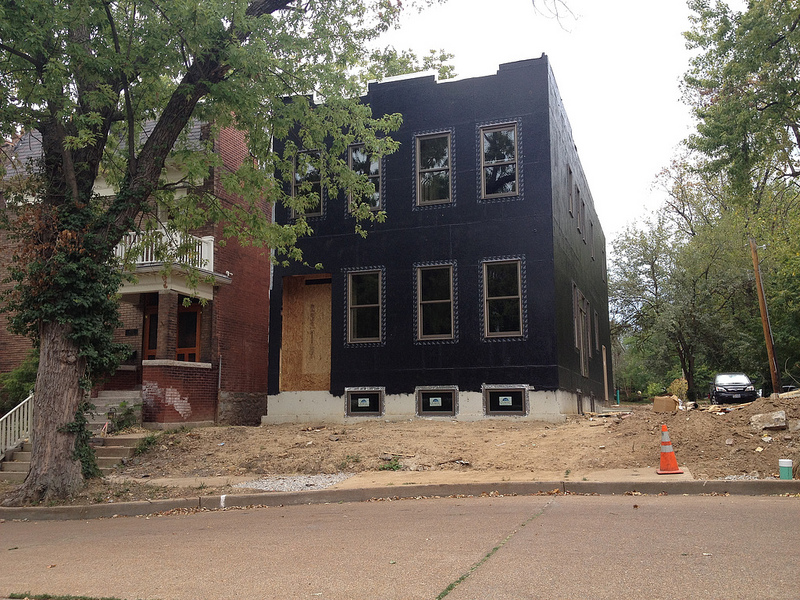 New Single Family Home Under Construction in Shaw (4274 Flad)