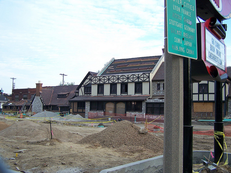 Cheshire Restaurants Under Rehab (7036 Clayton Avenue)