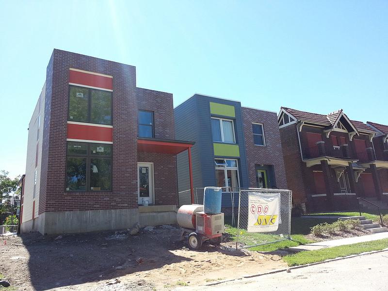New Single Family Home in Botanical Grove Development Progressing (4230 McRee)