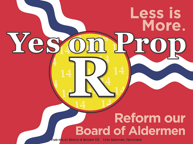 Yes on Prop R: Why Passing Political Reform is Important to the Future of St. Louis