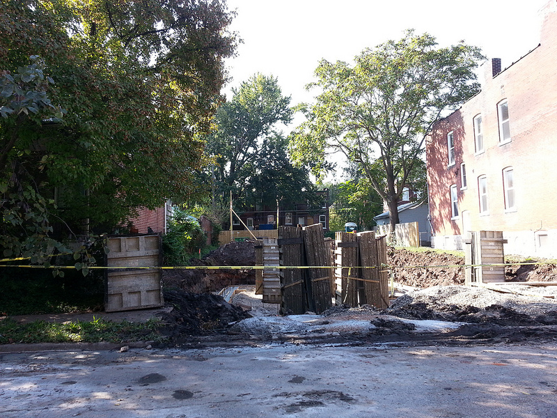 Update: New Single Family Home in Shaw Now Under Construction (4136 Flad)