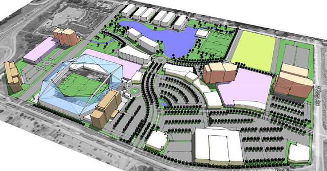 """""""United Plaza"""" Seeks to Bring Professional Soccer and More to Richmond Heights"""
