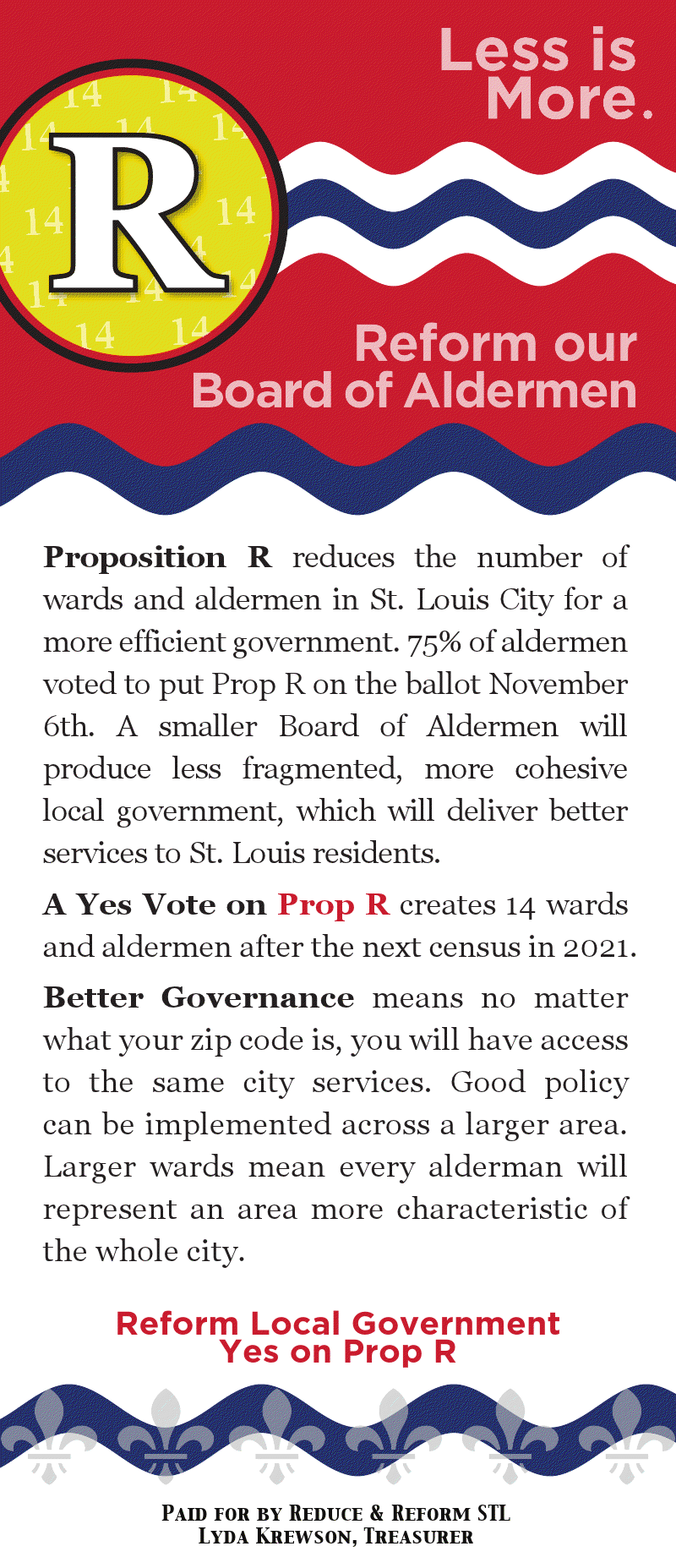 Less is More: Prop R TV Ad Hits the Air Tomorrow