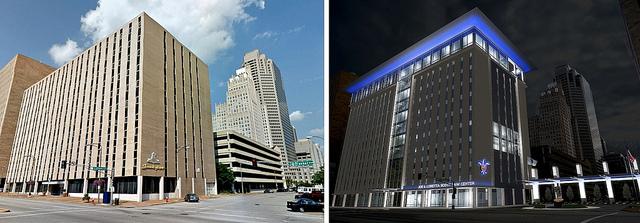 The SLU-burbanization of Downtown St. Louis: School Envisions Closing Chestnut Street