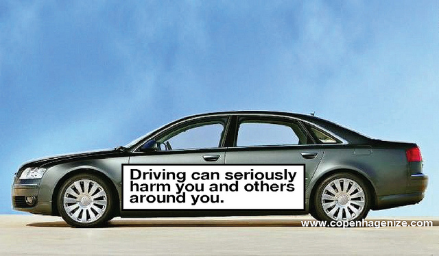 """""""Driving Can Seriously Harm You and Others Around You"""""""