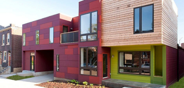 Modern Infill by UIC Comes to The Grove