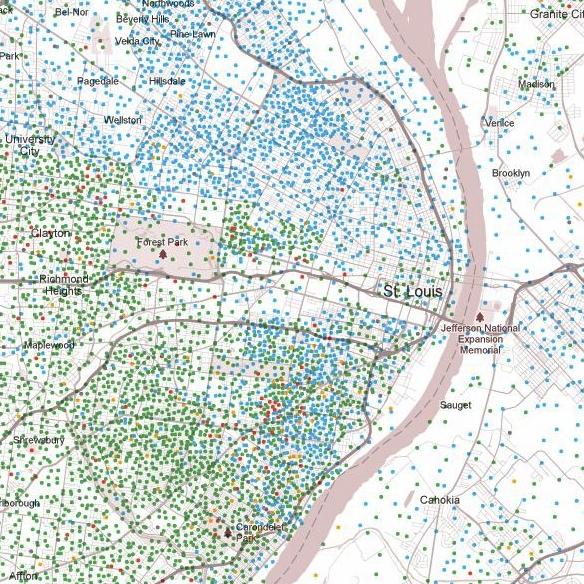 Lies, Damn Lies, Racial Integration and Segregation in St. Louis, and Statistics