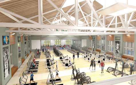 Extensive Washington University Field House and Cyclotron Projects Coming Soon