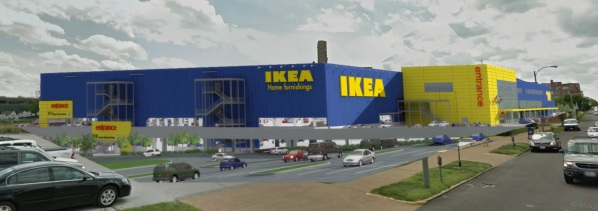 St. Louis City, Pace Properties Focused on Building IKEA at Forest Park Avenue Site