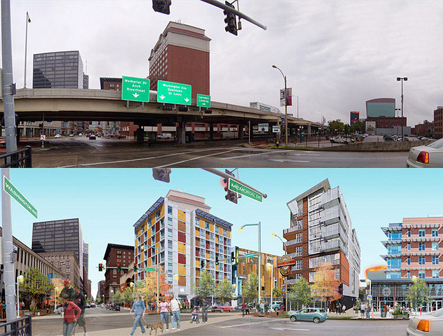 St. Louis Pulls I-70 to Boulevard Conversion from Downtown Multimodal Access Study