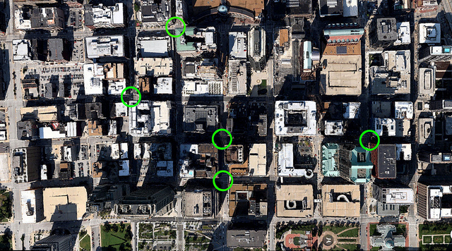 Just Five Urban Intersections Left in Downtown St. Louis
