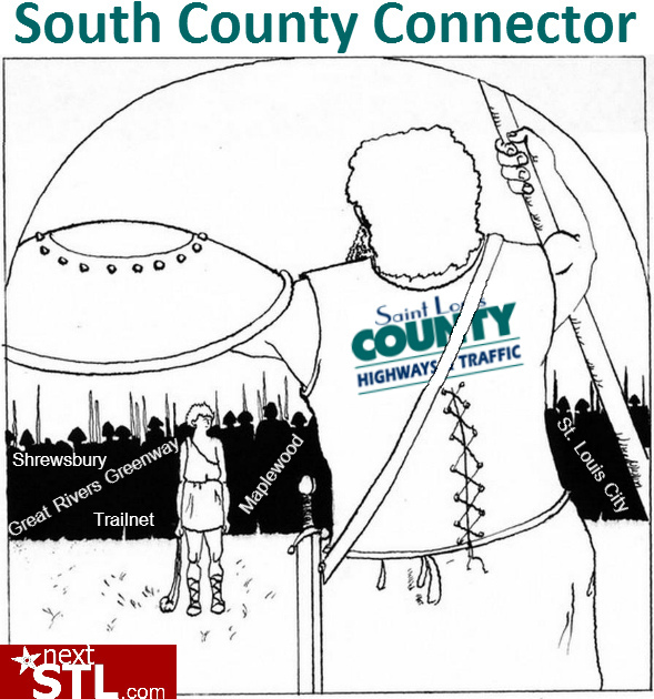The South County Connector Battle Lines