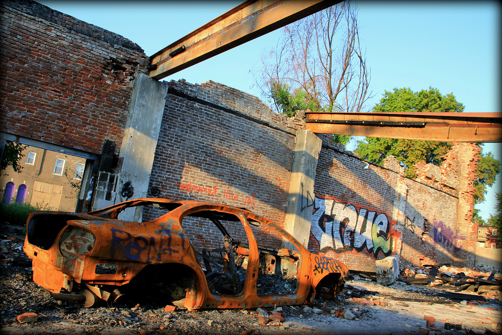 Like PB'n'J: Urban Exploration and Graffiti