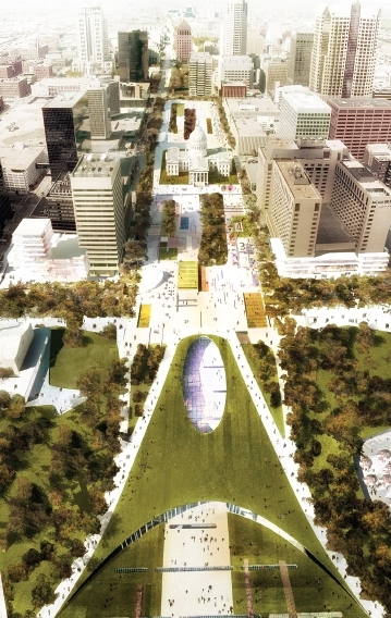 Full Review: Behnisch Team Arch Grounds Competition Design
