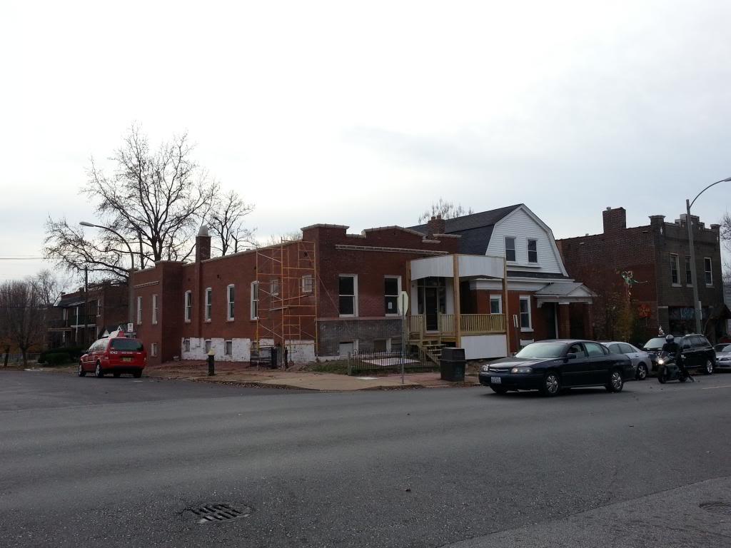 Update: Cherokee Street Rehab Underway (3132 Cherokee)