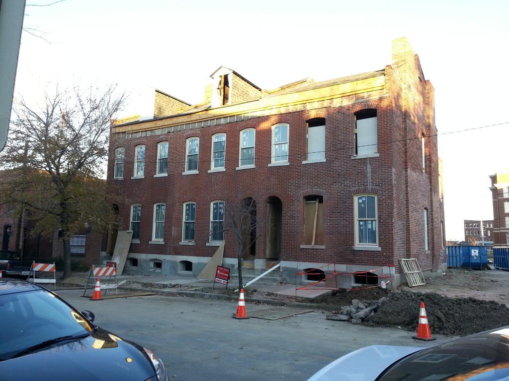 Update: Lafayette Square Rehab Progressing (1620-24 Dolman)