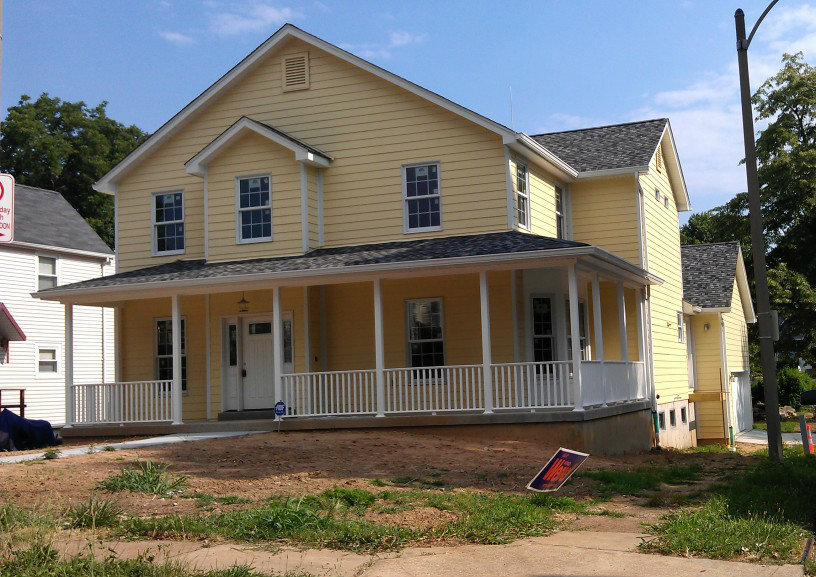 New Single Family Home Nearing Completion in the Ellendale Neighborhood