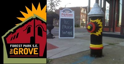 One More Sign That More People Care About Forest Park Southeast: Funky Painted Fire Hydrants