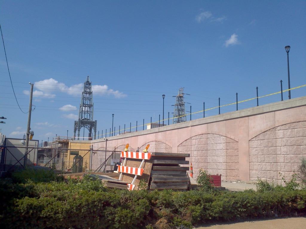 New Grand Bridge Adds Four Decorative Towers