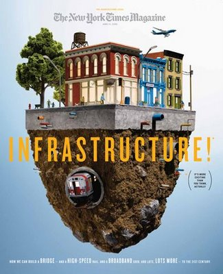 """NY Times Magazine Covers Infrastructure: """"It's More Exciting Than You Think, Actually"""""""