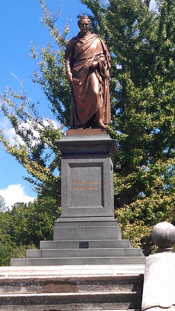 Thomas Hart Benton Statue in Lafayette Park Restored