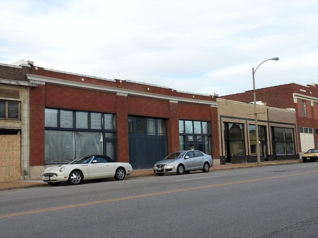 Grand Center Rehab Nearing Completion (3305-3319 Washington)