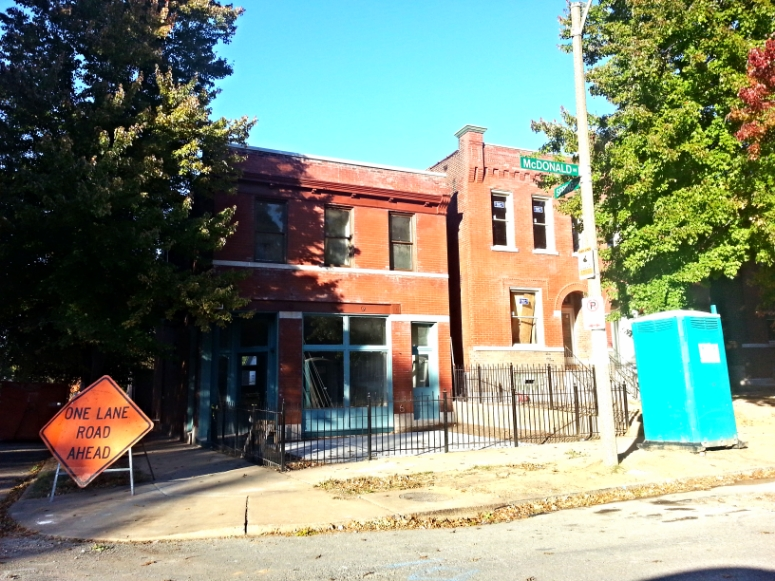 Tower Grove South Rehabs Progressing (3727 and 3731 McDonald)