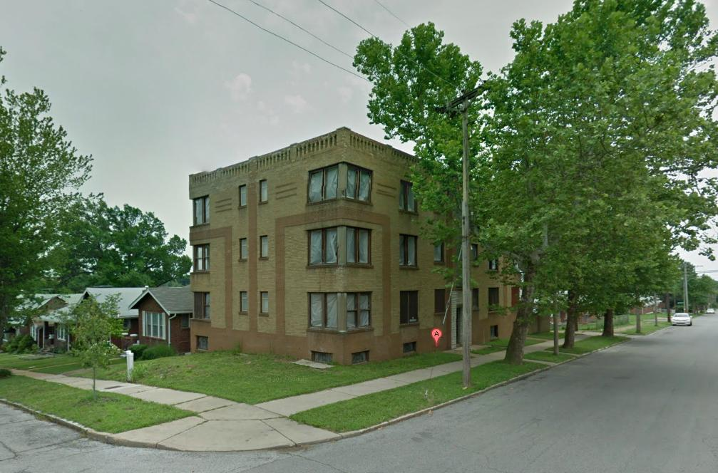 Art Deco Building in Tower Grove South Now Under Rehab