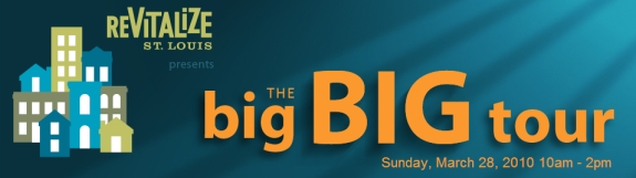 The big BIG tour Offers the Best Chance to Tour St. Louis City Homes – Sunday, March 28