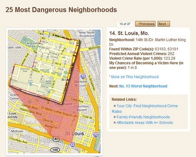 Neighborhood Crime Ranking: True, Factual, Standardized Statistics Can't Lie, Can They?