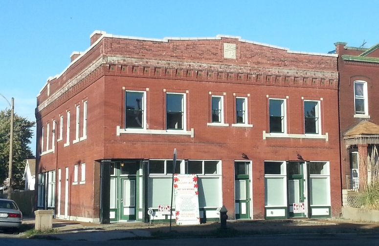 Tower Grove East Mixed Use Rehab Now Complete (3457-59 Wyoming)