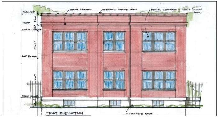 Two New Homes Proposed for Benton Park (2830-36 McNair and 2841-47 Indiana)