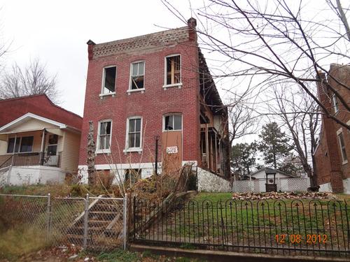 Damaged Benton Park Home to be Rehabbed (3307 Missouri)