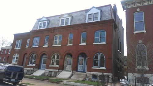 Soulard Rehab Nearing Completion (2621-25 S. 11th St.)