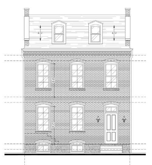 New Single Family Home to be Constructed in Soulard (2112 S. 11th)