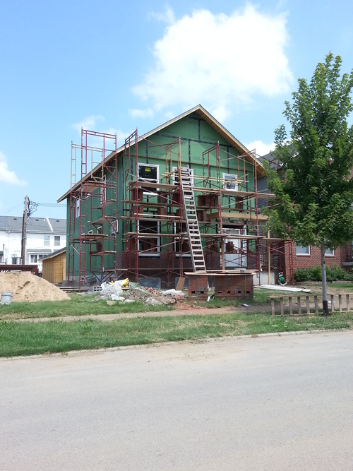 Two New Single Family Homes Under Construction in Skinker DeBaliviere (5785 and 5797 McPherson)