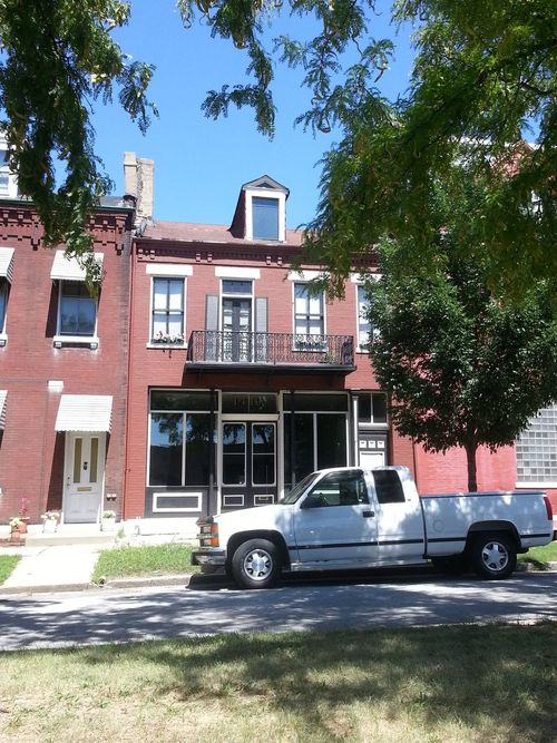 Old North St. Louis Storefront Building Rehabbed (1419 North Market)