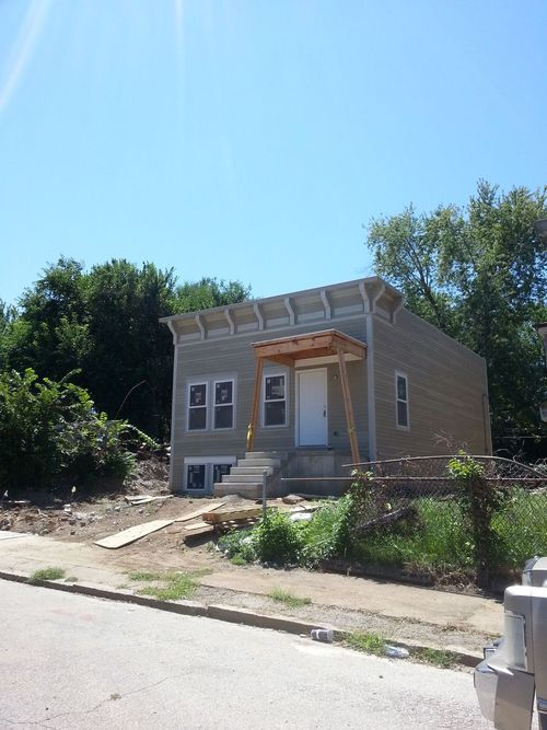 New Single Family Home Under Construction in the Ville (4272 W. St. Ferdinand)