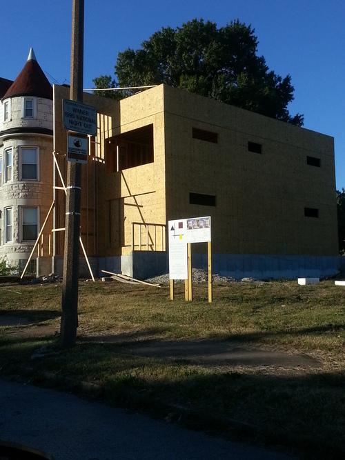 New Home Rising in Gaslight Square (4211 Washington)