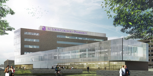 Renderings Released for St. Louis College of Pharmacy Expansion in the Central West End