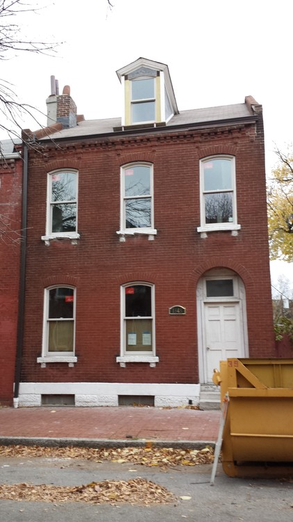 Soulard Rehab Nearing Completion (1848 S. 10th)