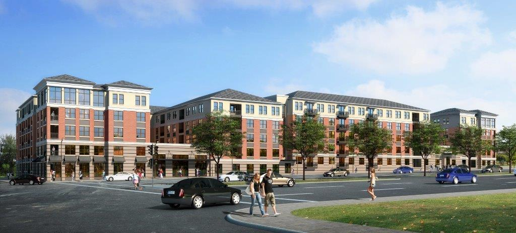 164-Unit Residential Infill to Replace Mobil Gas Station in Burgeoning Midtown