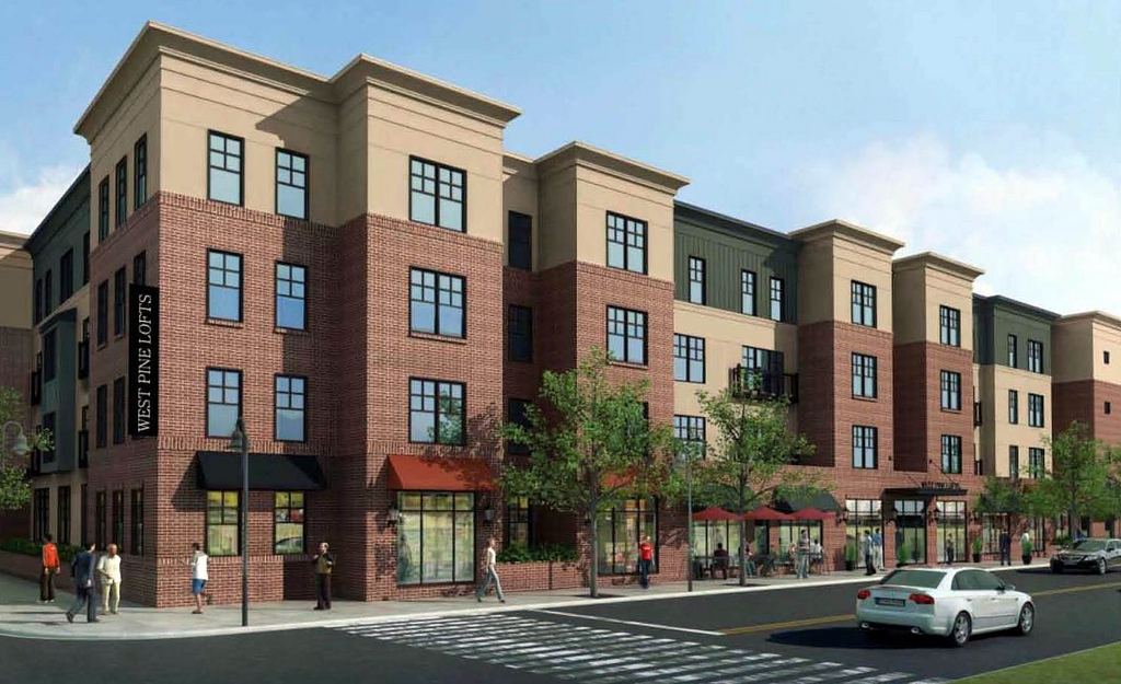 Eight Central Corridor Infill Projects and the Design of a New St. Louis