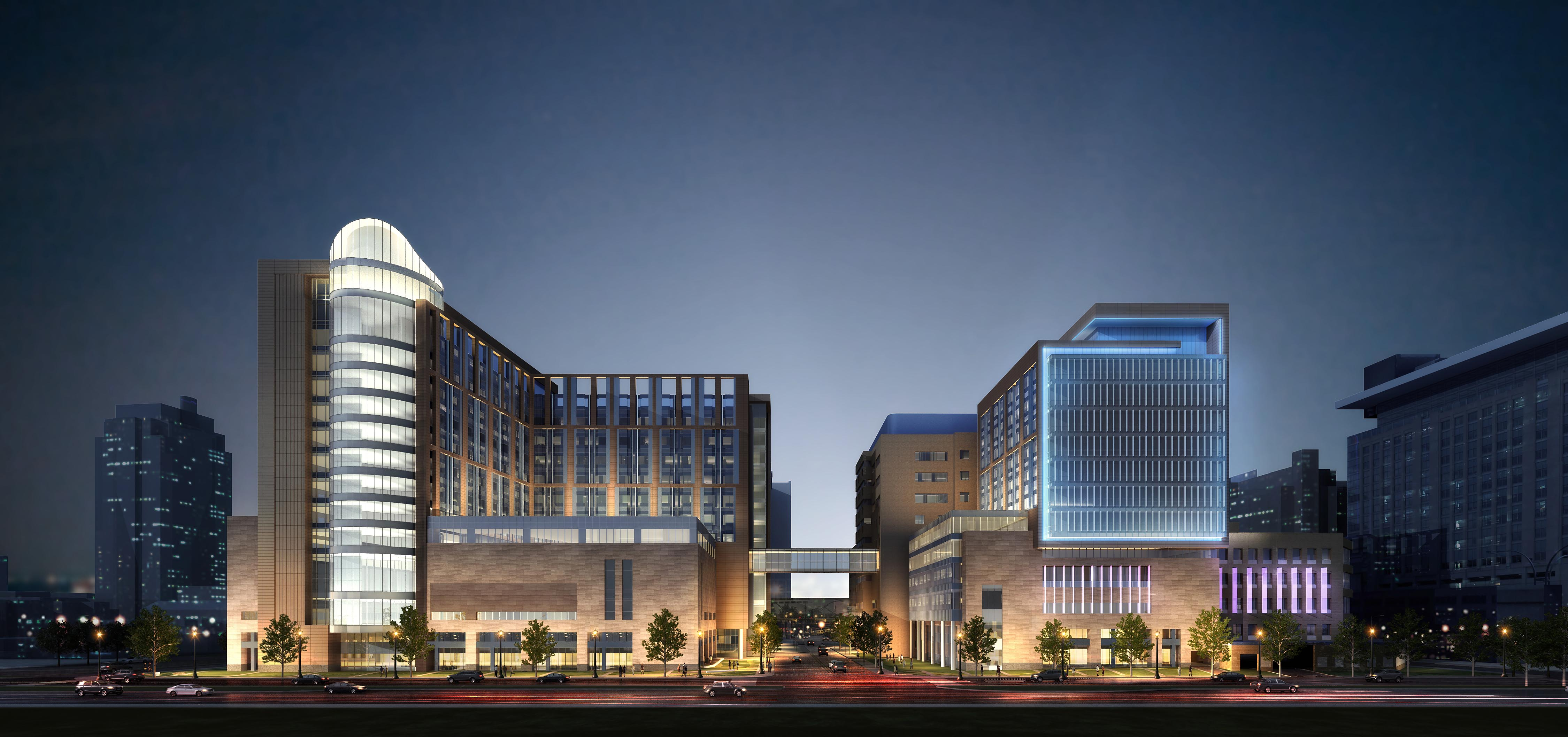 BJC, Children's Hospital Release Detailed Renderings of Three New Towers