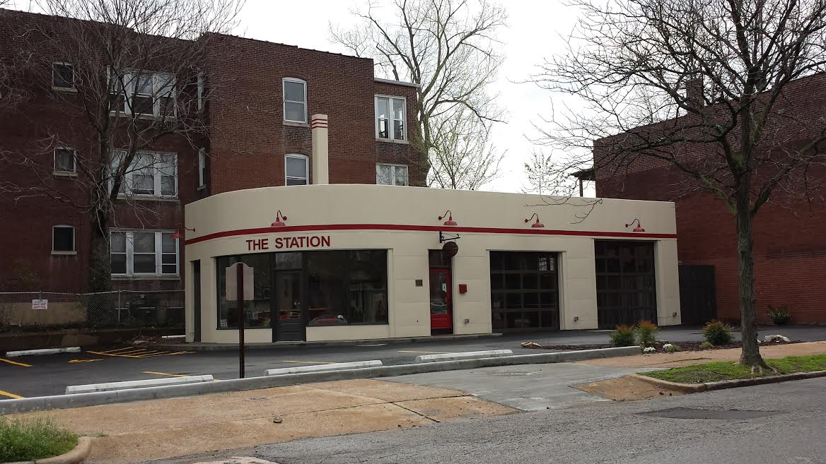Old Gas Station in Shaw Rehabbed into Catering Facility and Event Space (2232 Thurman)