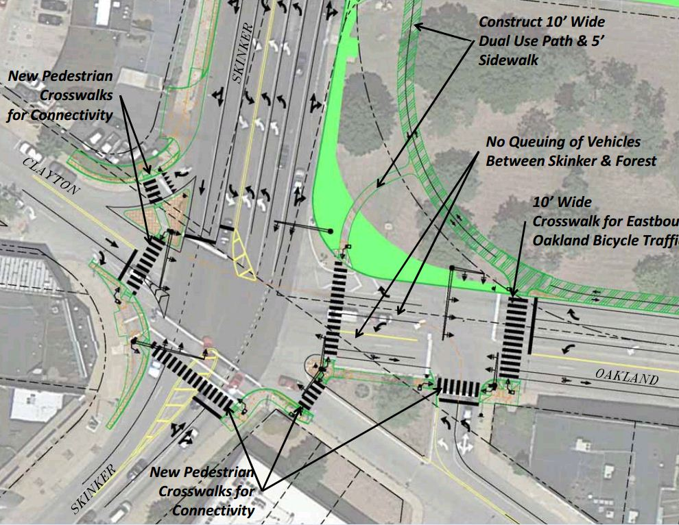 After 60 Years, Skinker/Clayton Intersection Redesign Will Accommodate Pedestrians