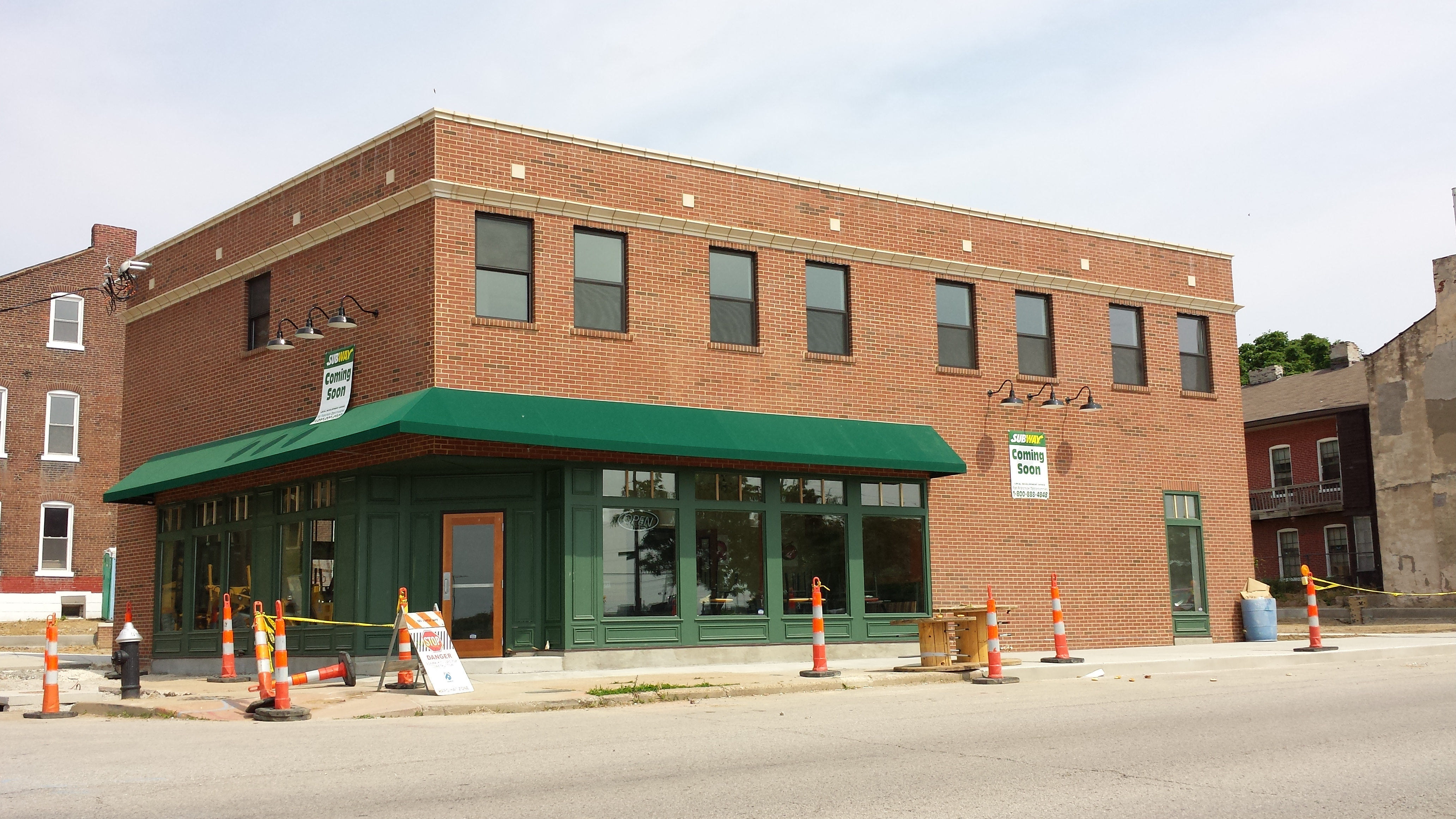 New Mixed Use Building Rises in Soulard (1831 S. 7th)